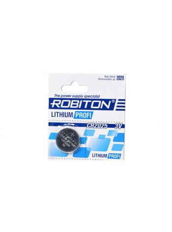 Батарейка CR2025 ROBITON