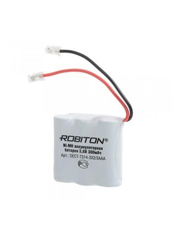 Аккумулятор для радиотелефонов T314 Robiton (3.6V 600mAh)