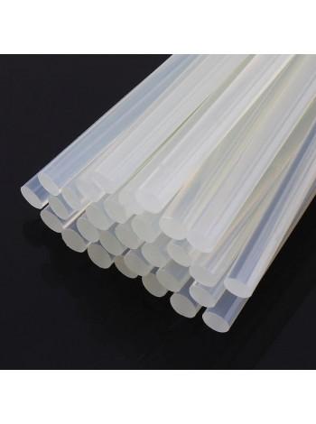 Стержни для термоклея прозрачные диаметром 7мм и длиной 300мм