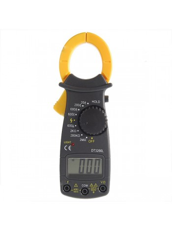 Токоизмерительные клещи-цифровой мультиметр DT3266L