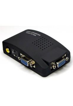 Переходник RCA-VGA (AV to VGA)
