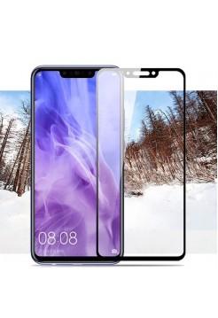 Стекло защитное Huawei черное