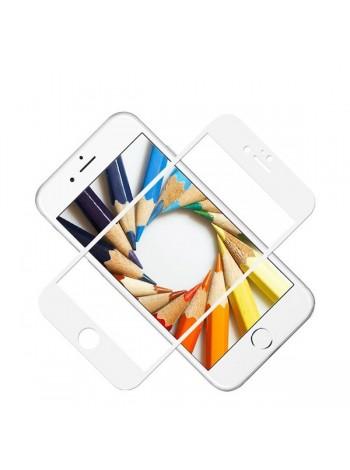 Защитное стекло для iPhone белое