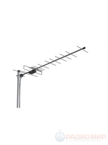 Антенна для цифрового ТВ уличная ЭФИР 18AF TURBO активная