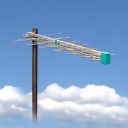 Антенна для цифрового ТВ уличная Дельтаплан ДМВ мини