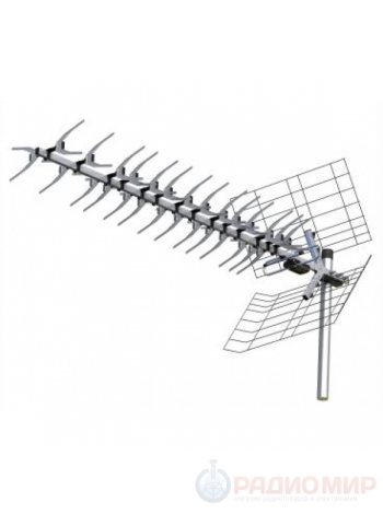 Антенна для цифрового ТВ уличная Locus Меридиан-60AF активная