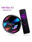 ТВ приставка Android 4/64 Гб H96 Max X3