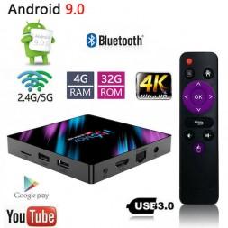 Android TV приставка 4/32 Гб H96 Max
