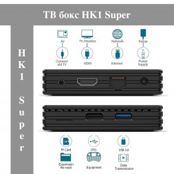 Приставка ТV-box HK1 Super