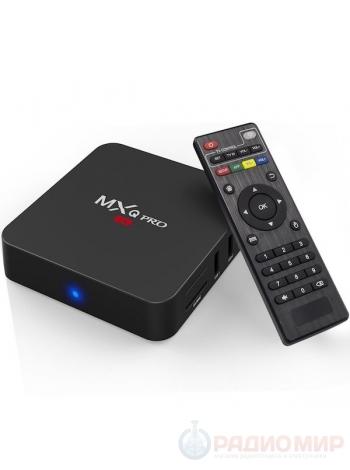 ТВ приставка медиаплеер MXQ Pro 4К Орбита