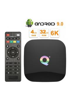 Android TV приставка 4/32 Гб Q+