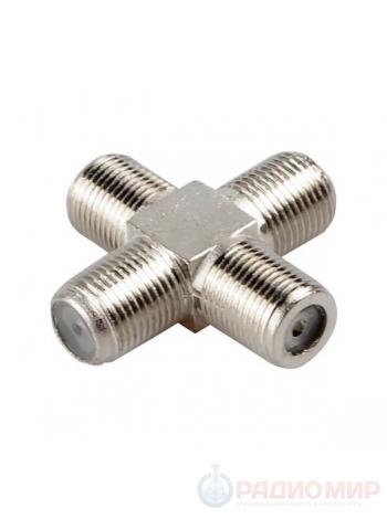 05-4205-4 соединитель ВЧ F розетка - F розетка - F розетка - F розетка
