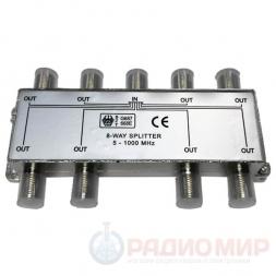 Делитель на 8 ТВ (5-1000МГц) Premier