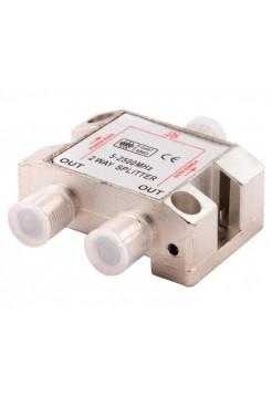 Делитель на 2 ТВ (5-2500МГц) OT-AVS01
