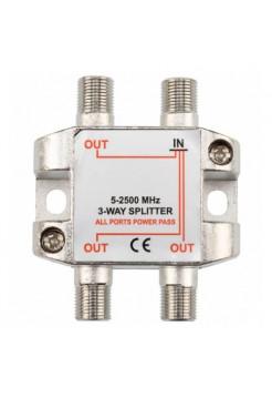 Делитель на 3 ТВ (5-2500МГц) OT-AVS02