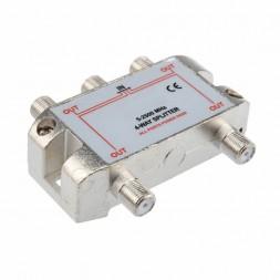 Делитель на 4 ТВ (5-2500МГц) OT-AVS03