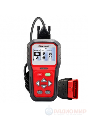 Диагностический OBD2 / EOBD автосканер Konnwei KW818