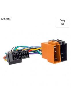 Переходник ISO для Sony, JVC магнитолы ASH-031