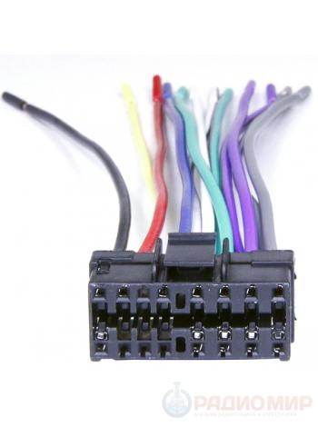 Разъем ASH-016 для подключения автомагнитол JVC, Sony