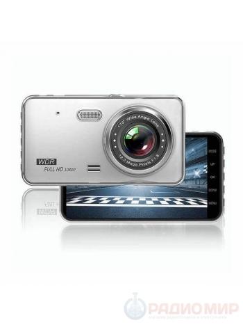Автомобильный видеорегистратор c камерой заднего вида TDS TS-CAR24