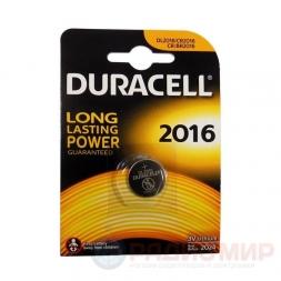 CR2016 Duracell батарейка