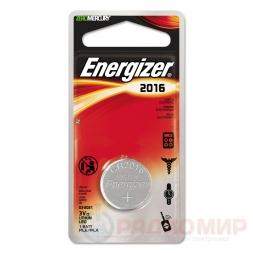 CR2016 Energizer батарейка
