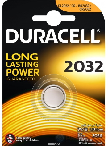Батарейка CR2032 Duracell