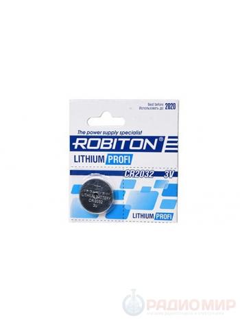 Батарейка CR2032 ROBITON