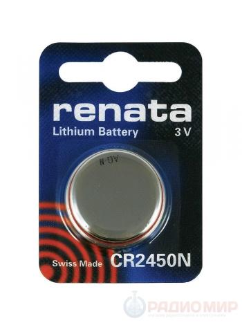 Батарейка CR2450 Renata