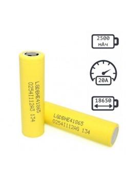 18650 2500мАч аккумулятор LG HE4 25A