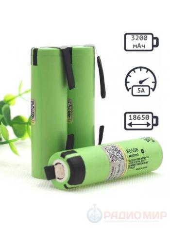 18650 Panasonic 3200mAh аккумуляторная батарея NСR18650B