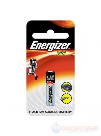 Батарейка LR 27A Energizer Alkaline 12В