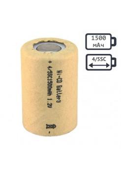 4/5SC аккумулятор 1500мАч Ni-Cd Орбита