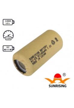 SC аккумулятор 1800мАч Ni-Cd Sunrising