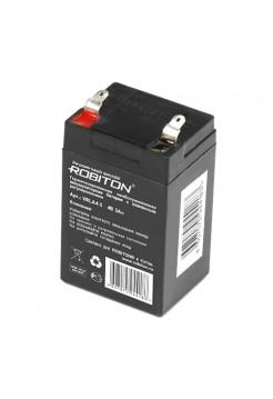 4В аккумулятор 3Ач Robiton VRLA4-3