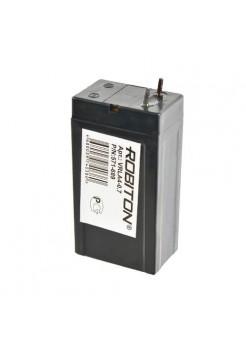 4В аккумулятор 0.7Ач Robiton VRLA4-0.7