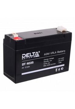 4В аккумулятор 3,5 Ач Delta DT 4035