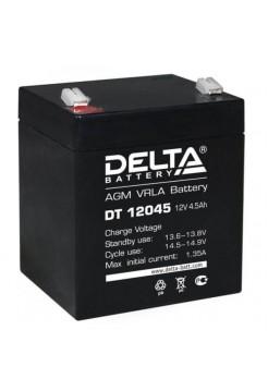 12В аккумулятор  4,5Ач Delta DT 12045