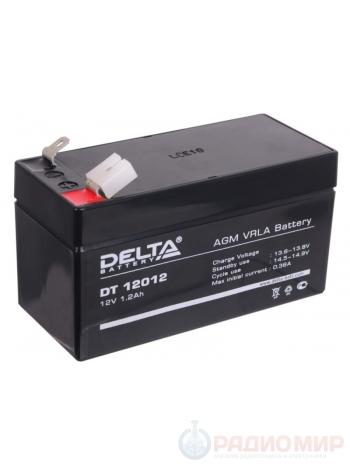 Герметичная свинцово-кислотная аккумуляторная батарея 12В 1,2Ач SF 12012
