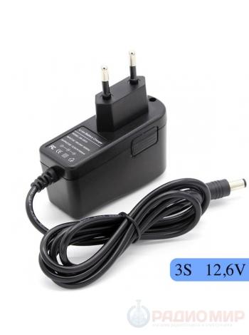 Зарядное устройство 12,6В 1А для аккумуляторных сборок