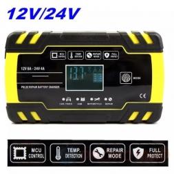 Зарядное устройство 12В/24В Foxsur FBC122408D