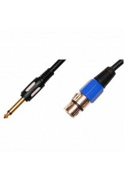 6.3 jack - XLR female кабель Premier