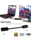 Переходник DisplayPort (штекер) - HDMI (гнездо)