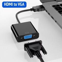 Переходник HDMI-VGA (HDMI to VGA)