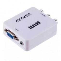 VGA→RCA переходник VGA-to-AV (USB)