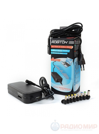 Универсальная зарядка для ноутбуков Robiton NB90W