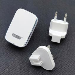 Сетевое зарядное устройство с набором переходников EZRA HC18 Traveller