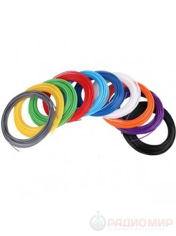 ABS пластик для 3D ручки Орбита D-16 (10 цветов)