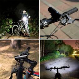 Фонарь велосипедный с USB зарядкой PT-FLB01