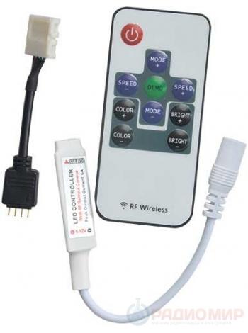 Контроллер с радиопультом CRFM72ESB Ecola для светодиодной ленты